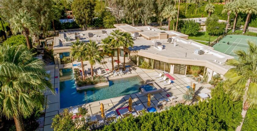 Lord Hanson's Palm Springs retreat