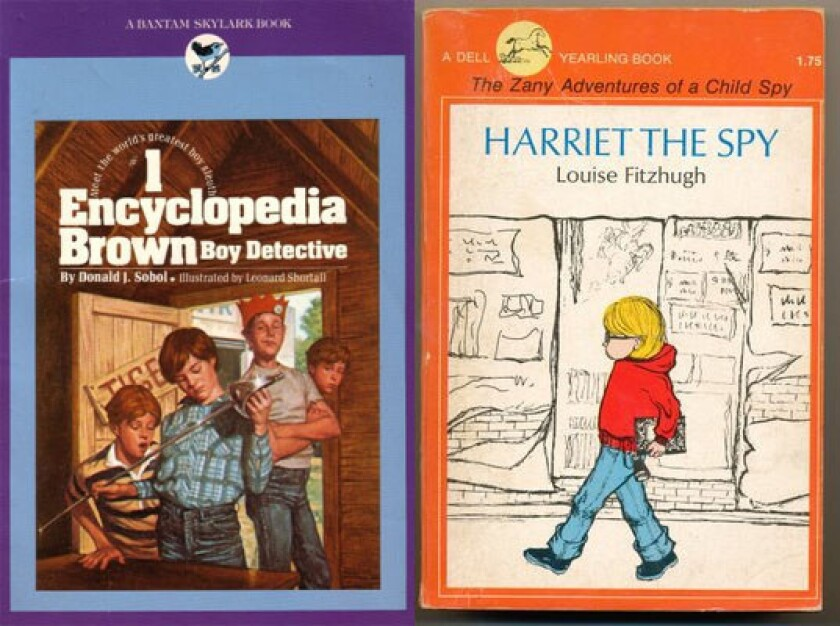 'Encyclopedia Brown' and 'Harriet the Spy'