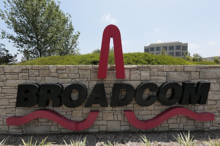 Why did Broadcom Corp 's stock keep rising after takeover