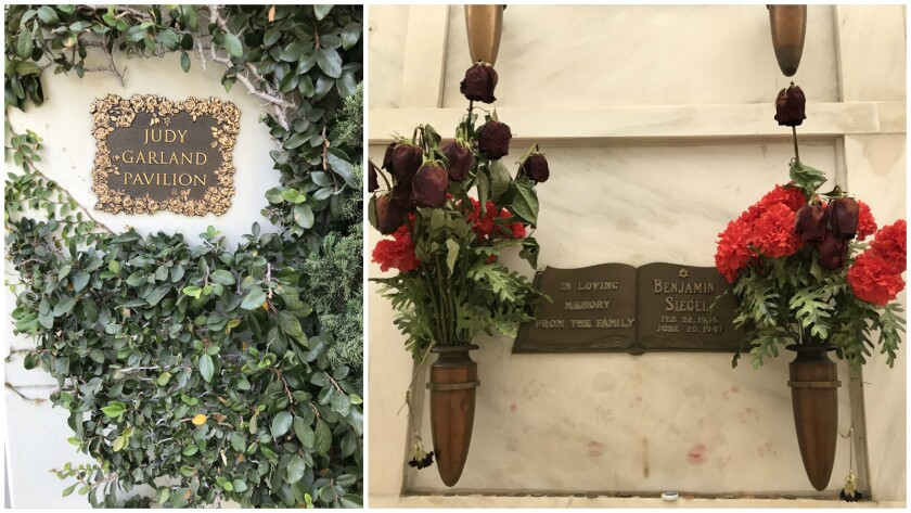 Hollywood Forever cemetery's notable residents include Judy Garland and Bugsy Siegel