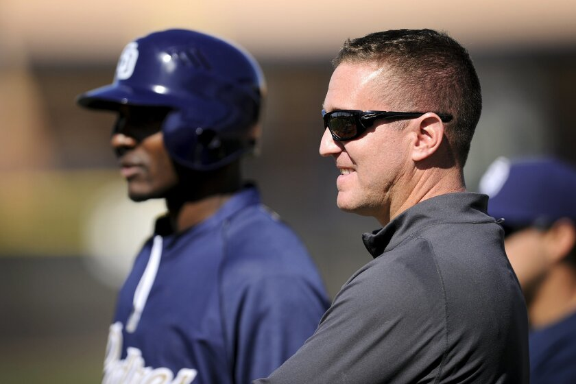 Josh Byrnes will be introduced as Padres general manager after the World Series.