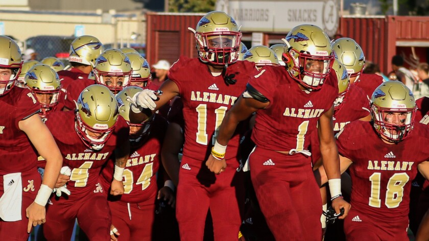Bishop Alemany has suspended football conditioning after an unauthorized clinic was held on its field Saturday.