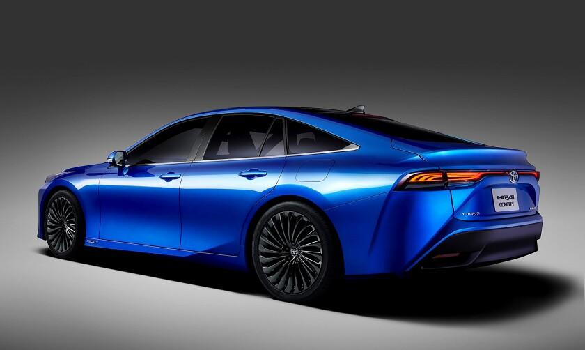 2021 Toyota Mirai Sedan Concept
