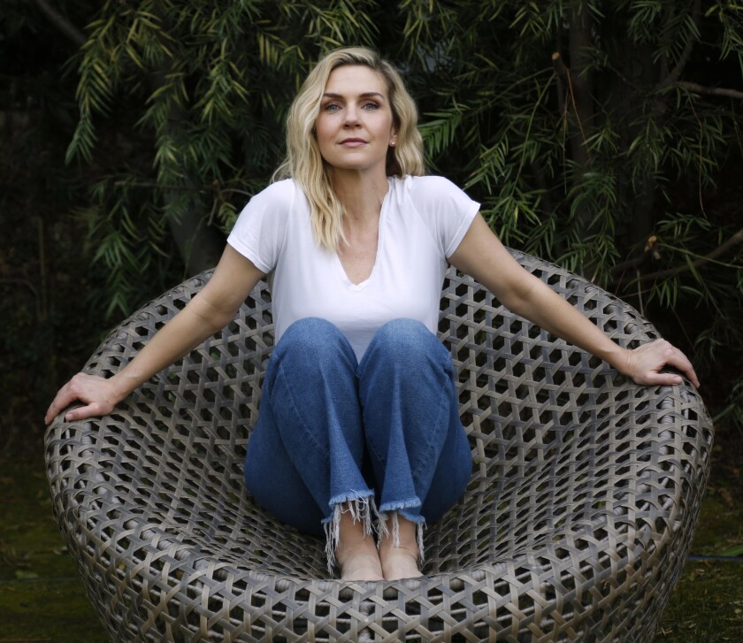 """Rhea Seehorn of AMC's """"Better Call Saul,"""" pictured at her home in Los Angeles."""