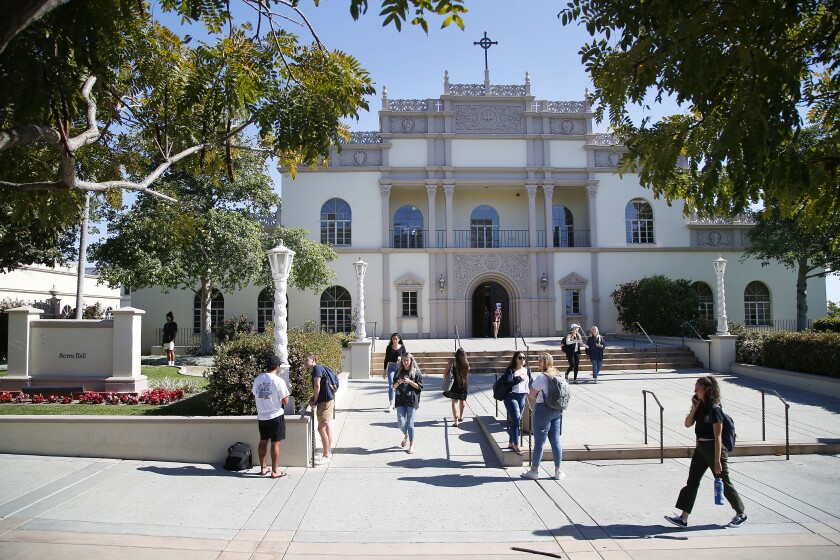USD's Serra Hall, named for St. Junipero Serra, will be re-christened to also recognize Kateri Tekakwitha, the first Native American saint.