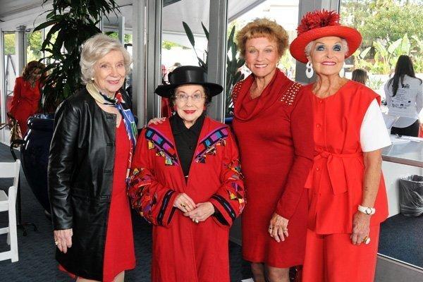 Loraine Slack, Merle Lotherington, Shirley Harper, Marilyn Barrett