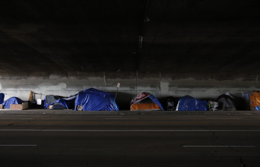 Homelessness in L.A.