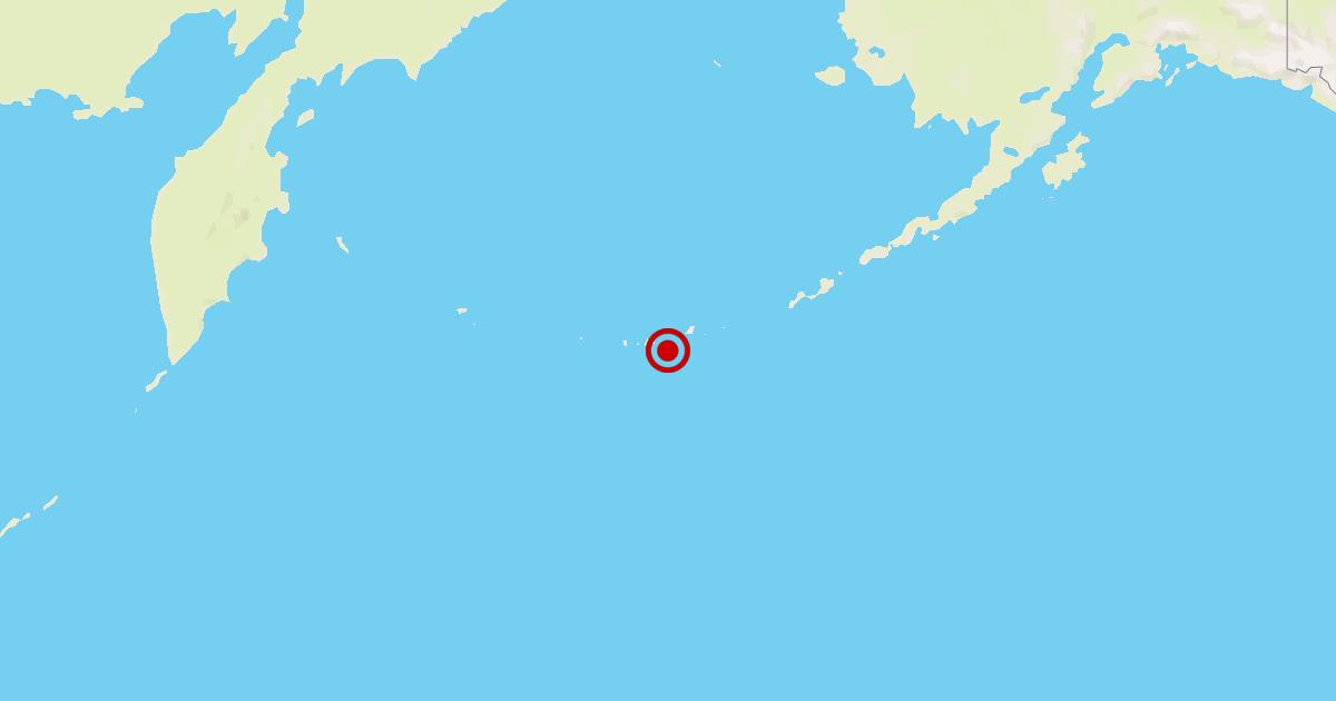 Earthquake: 6.3 quake strikes near Adak, Alaska