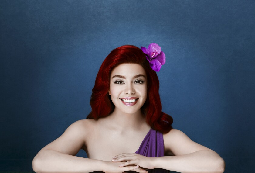 Auli'i Cravalho as Ariel