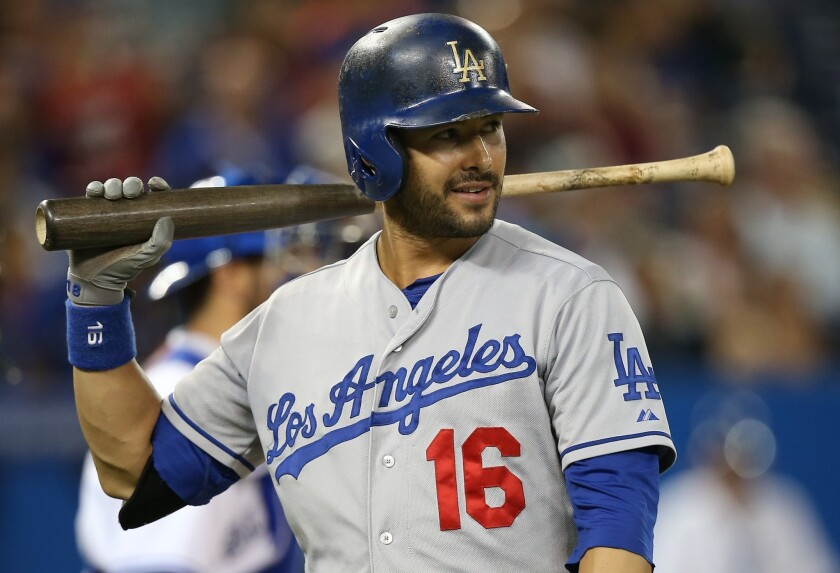 The Dodgers are playing it safe with center fielder Andre Ethier's calf injury.