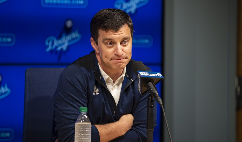 Head of baseball operations Andrew Friedman