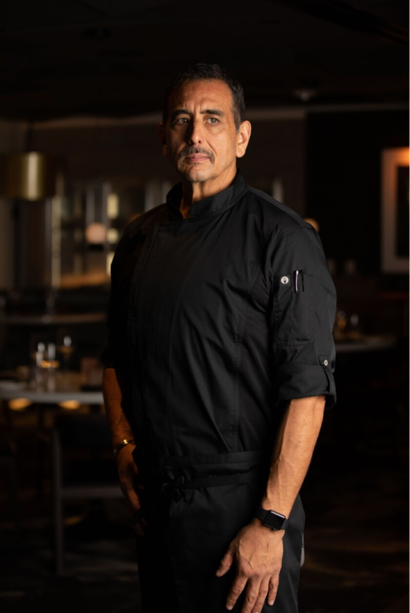 James Montejano is the new executive chef at International Smoke Del Mar restaurant.