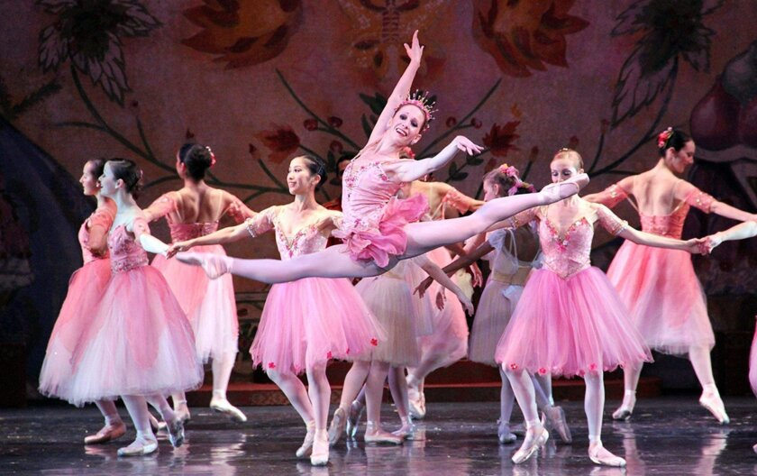San Diego Ballet performs 'The Nutcracker' 7 p.m. Saturday, Dec. 29, 2018 and 2 p.m. Sunday, Dec. 30 at Copley Symphony Hall, 750 B St. downtown San Diego.
