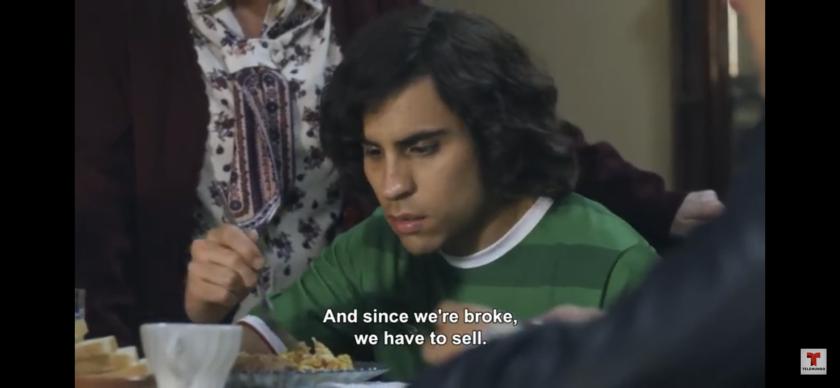 """Axel, participa en la serie José José interpretando al hermano menor del """"Príncipe de la Canción""""."""