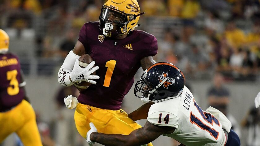 Arizona State junior wide receiver N'Keal Harry has emerged as a potential first-round draft pick in the 2019 NFL Draft.