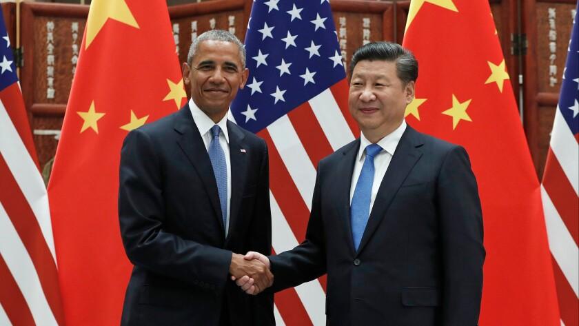 Obama, Xi