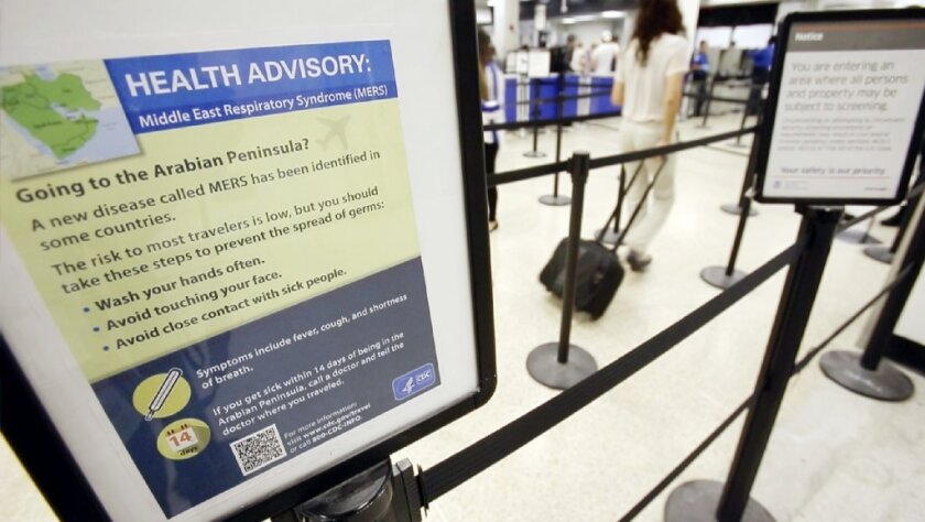 CDC says man who met with U S  MERS patient was not infected