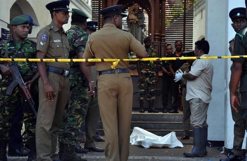 Trump ofrece las condolencias de EE.UU. a Sri Lanka por los atentados con 207 muertosv