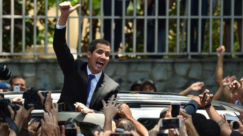 VENEZUELA-CRISIS-OPPOSITION-RALLY-GUAIDO