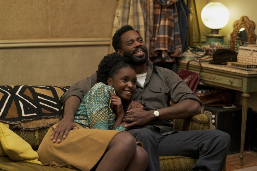 "KiKi Layne (left) as Tish and Colman Domingo as Joseph star in Barry Jenkins' ""If Beale Street Could Talk,"" an Annapurna Pictures release."