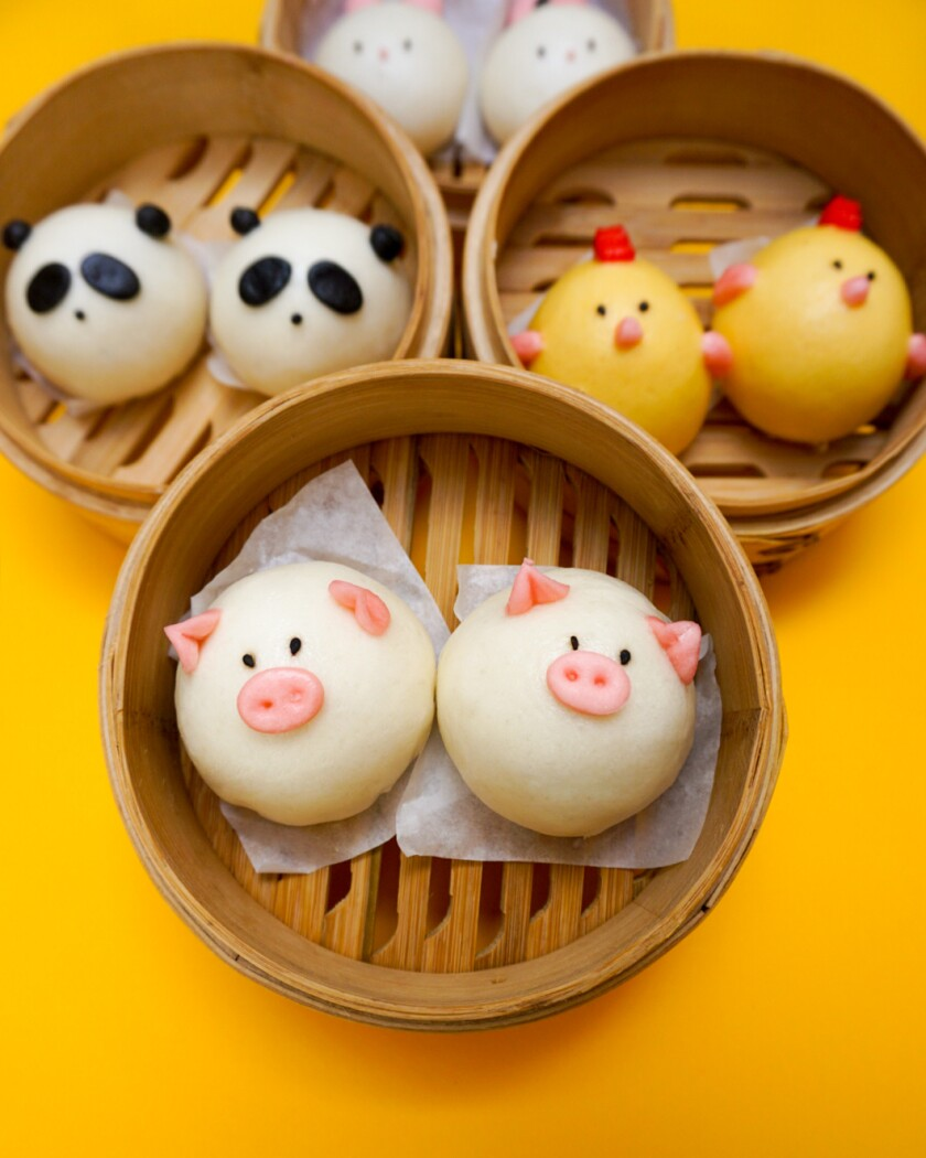 Harumama is best known for its Instagram-worthy character steamed buns.