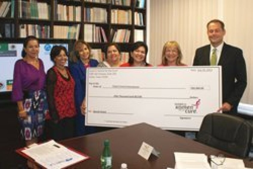 "RSF resident Lili Halmos-Myers, Susan G. Komen for the Cure San Diego ""Survivor of the Year"" and bicultural spokesperson for Komen's Race for the Cure, which is held in November."