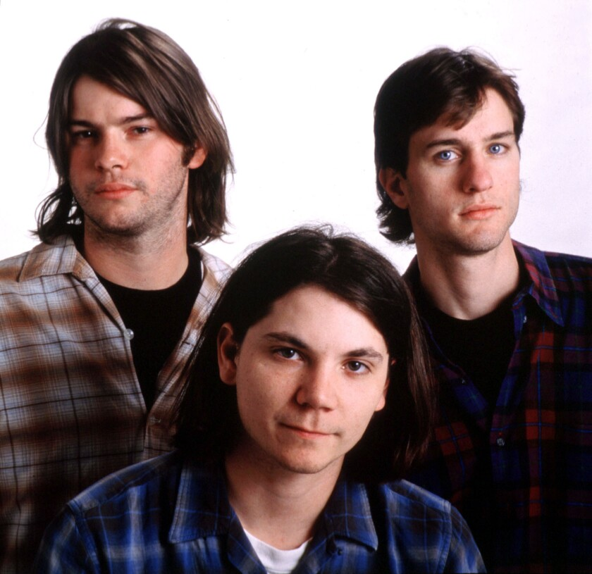Uncle Tupelo, from left: Jay Farrar, Jeff Tweedy and Mike Heidorn. The band broke up in 1994.