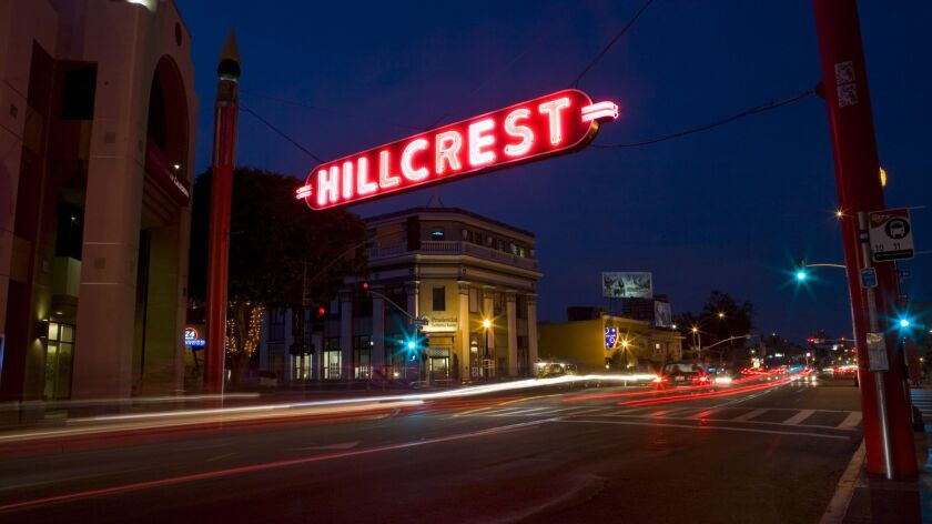 (Published 07/16/2007, D-1) Hillcrest sign on University and 5th