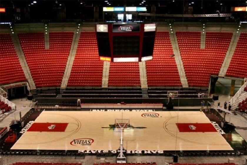 Sdsu S Cox Arena To Be Called Viejas The San Diego Union Tribune