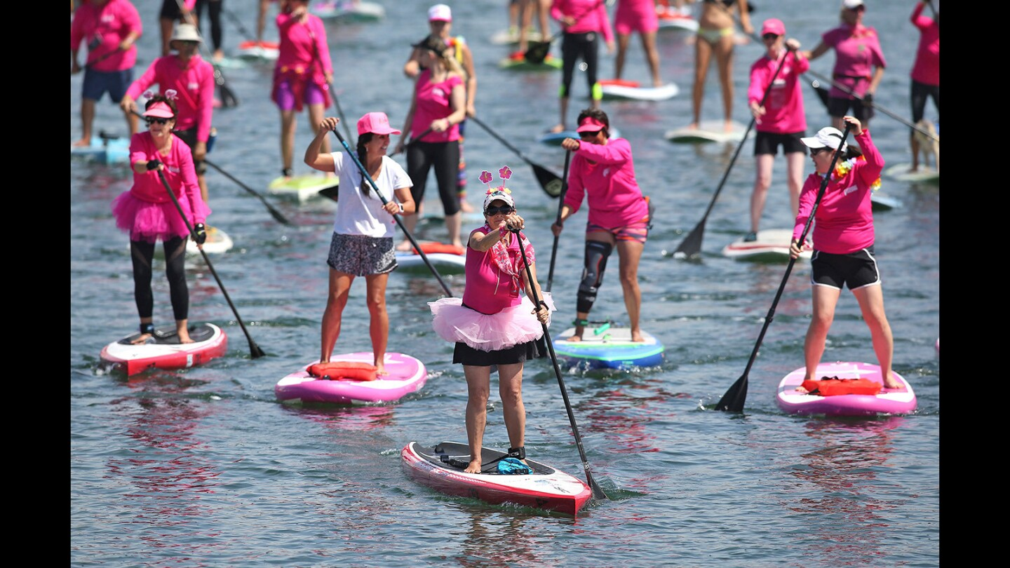 "2018 Standup Paddle for the Cure ""Sea of Pink"" 5K paddle"