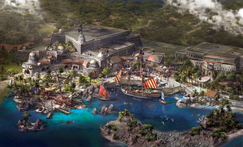"""Disney announced the inclusion of a """"Pirates of the Caribbean"""" attraction at the Disneyland that is set to open in Shanghai in 2015."""