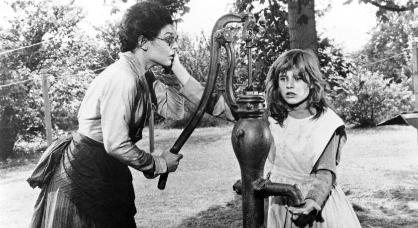 "Anne Bancroft, left, and Patty Duke in ""The Miracle Worker."""