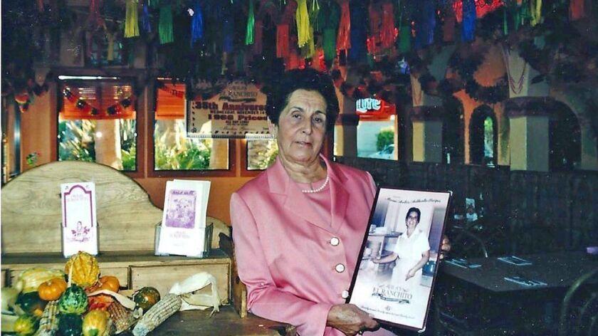 On Food: Margarita Avila, matriarch of Avila's El Ranchito