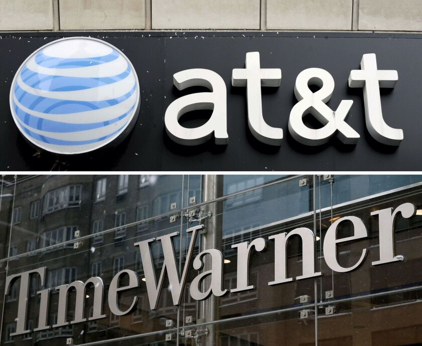AT&T granted approval to acquire Time Warner for 85 billion US dollar, New York, USA - 23 Dec 2008
