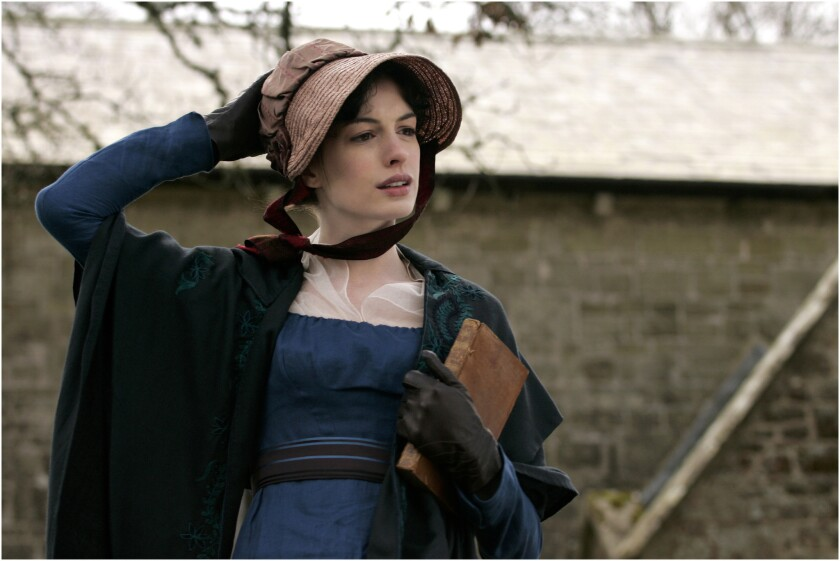 """Jane Austen (played by Anne Hathaway in """"Becoming Jane"""") will get her own day: Dec. 16."""