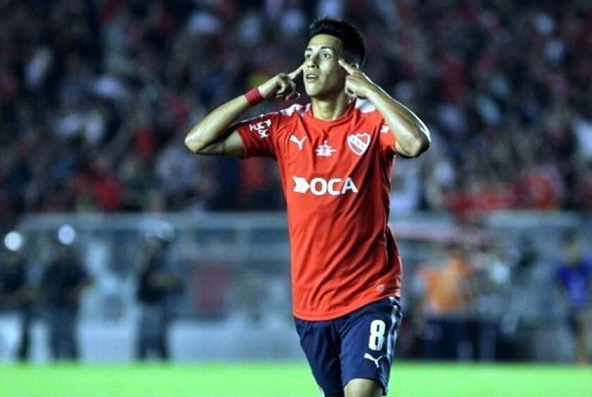 Maxi Meza llega a Monterrey.