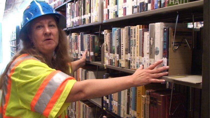 Valarie Bracato, library specialist, Hallett Movers