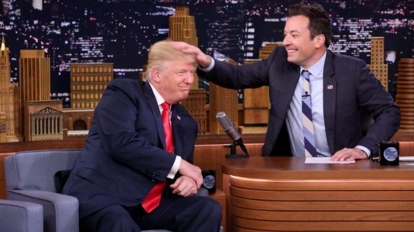 Jimmy Fallon's fawning interviews -- particularly this one with Donald Trump -- could cost him some