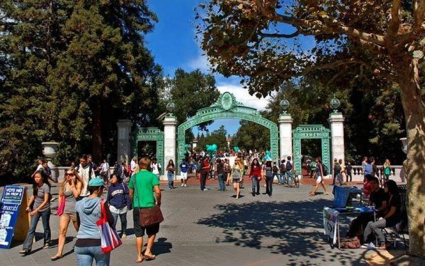 Students at UC Berkeley
