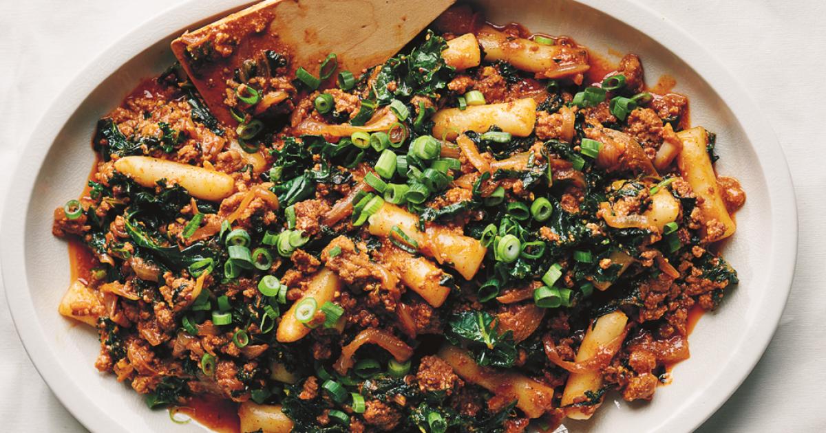 Mapo Ragù blends Korean, Chinese, Italian flavors