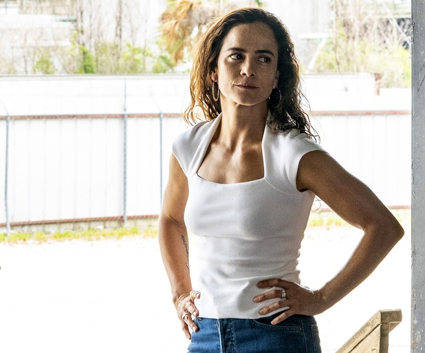 "Alice Braga in ""Queen of the South"" on USA."