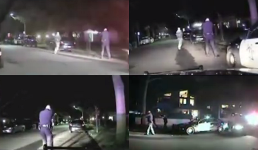 """Dash camera images showed police opening fire at William Raff, 31. Prosecutors said Raff was """"intent on dying at the hands of police officers,"""" who used lawful force."""