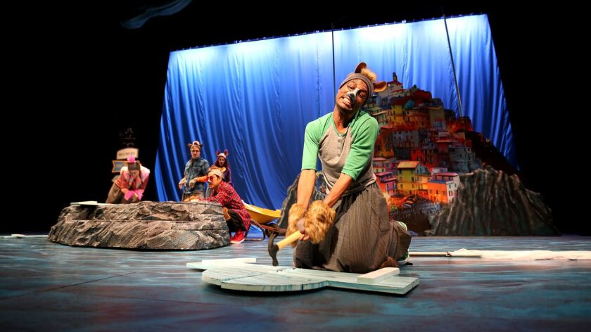 """South Coast Repertory presents the Theatre for Young Audiences production of """"Amos & Boris: A New"""