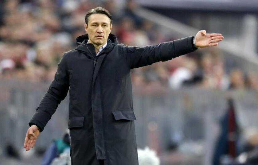 El entrenador del Bayern Munich Niko Kovac. EFE