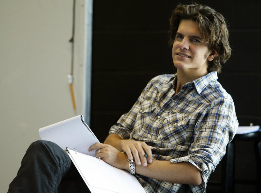 "Alex Timbers (pictured at La Jolla Playhouse in 2009) is now directing ""The Last Goodbye"" at the Old Globe, as he rides a wave of acclaim in New York."