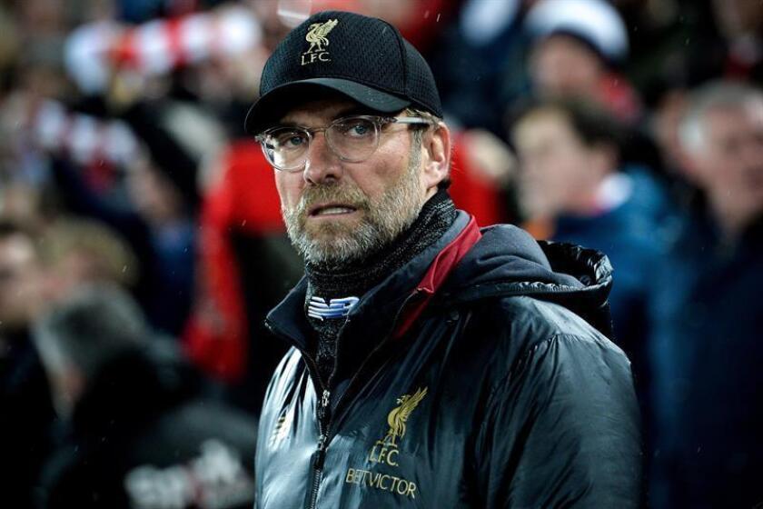 El entrenador del Liverpool, Jürgen Klopp. EFE/Archivo