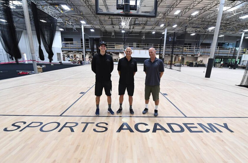 Soon-to-open Sports Academy is an all-in-one facility for