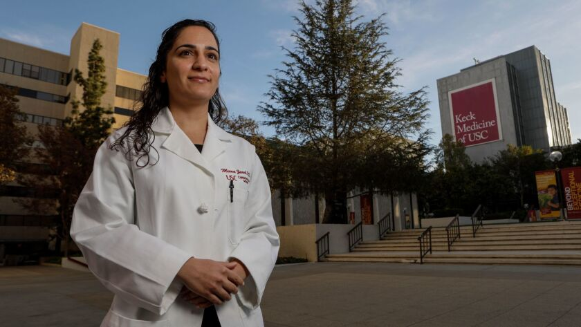 Dr. Meena Zareh testified that Dr. Guillermo Andres Cortes sexually assaulted her when both worked at Los Angeles County-USC Medical Center. This week, the Medical Board of California revoked Cortes' license to practice.