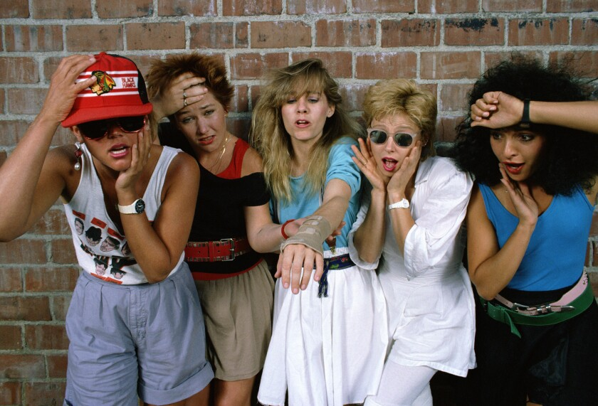 The Go-Go's in 1985.
