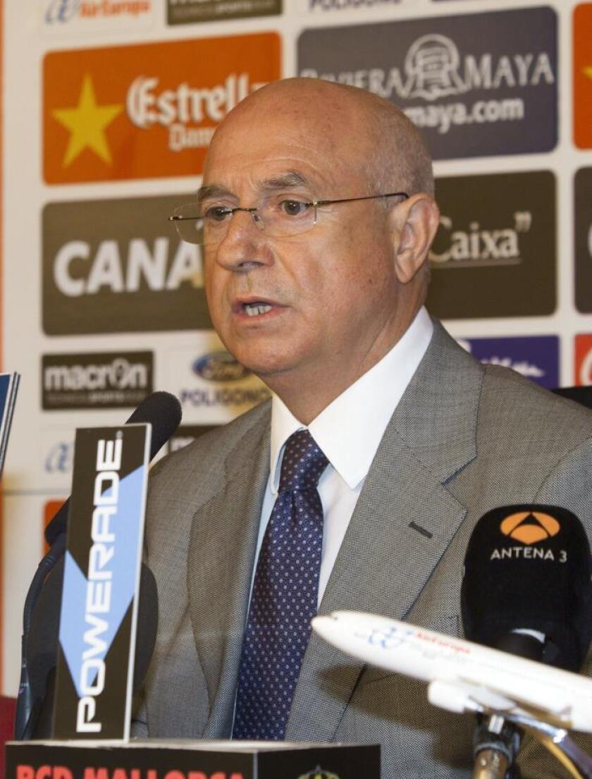 Lorenzo Serra Ferrer, vicepresidente deportivo del Real Betis español. EFE/Archivo